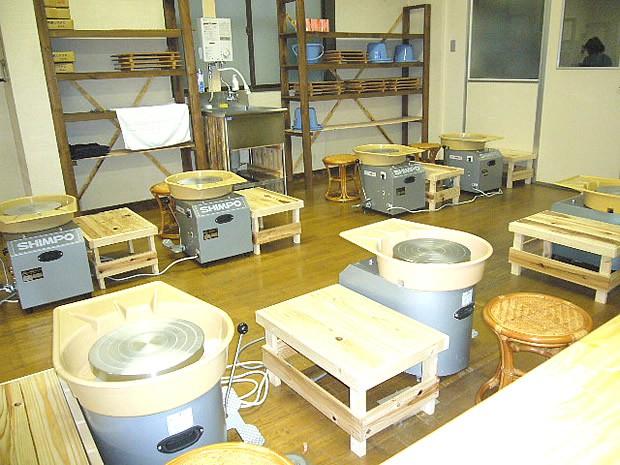 陶芸体験設備