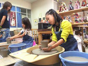子供陶芸体験