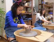 家族陶芸体験