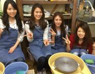 女子会陶芸
