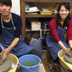 常滑で陶芸体験